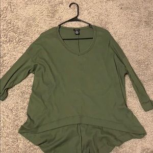 Rue 21 olive green sweater S